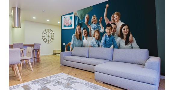 Wall Murals With Your Beloved Family
