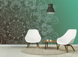 UNUSUAL WALLPAPER FOR WALLS DECORATING