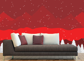 HOW TO DECORATE YOUR WALLS FOR CHRISTMAS IN 2017?