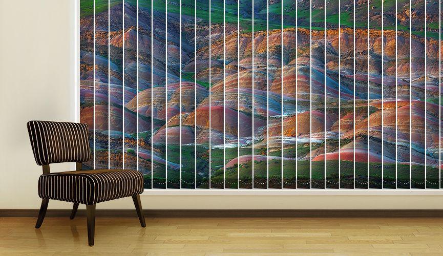 Colourful mountains II