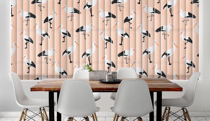 Pink storks