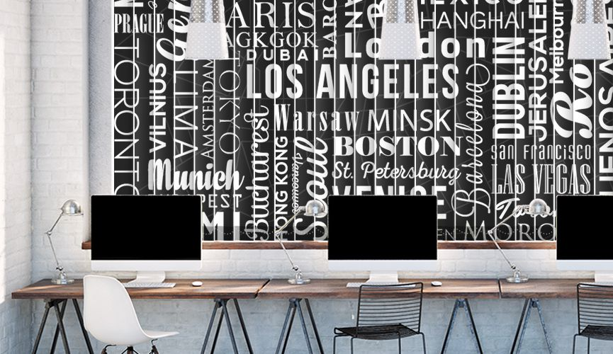Typographic cities B&W