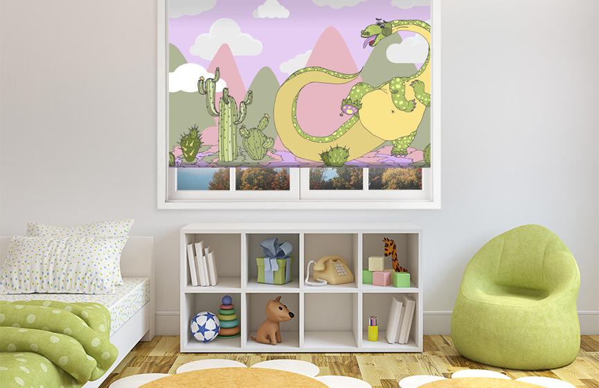 Help to the dinosaur