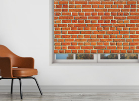 Orange bricks