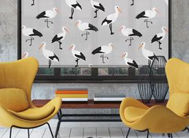 Storks B&W