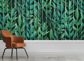 Green Pinnate Leafs