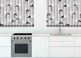 Sleeping storks
