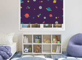 Boys roller blinds