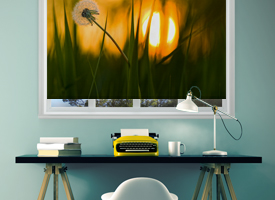 Photo roller blinds