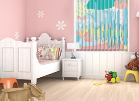 Baby vertical blinds