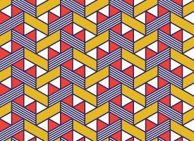 Patterned vertical blinds
